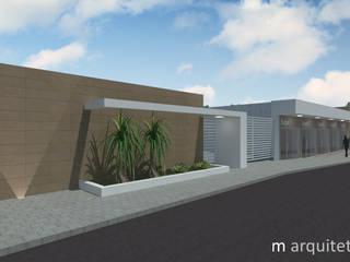 Casas de estilo  de M Arquitetura, Moderno