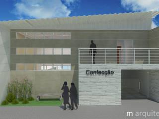 Oficinas y Tiendas de estilo  de M Arquitetura, Moderno