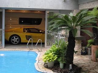 株式会社 t2・アーキテクトデザイン 一級建築士事務所 庭院泳池 水泥 Multicolored