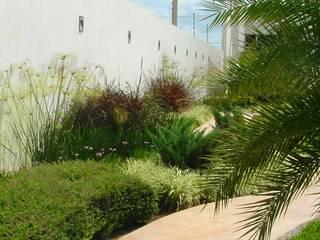 Jardín y andador: Jardines de estilo minimalista por EcoEntorno Paisajismo Urbano