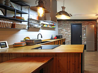 윤성하우징 Mediterranean style kitchen