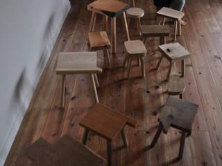 stool for children: WOOD STUDIO KUZE'Sが手掛けたスカンジナビアです。,北欧