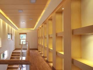 하늘과 직선의 매력이 합해진 집 [양평 명달리] 모던스타일 서재 / 사무실 by 윤성하우징 모던