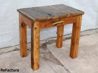 Küchentisch, Beistelltisch aus historischen Balken und Bohlen:   von ReFactura