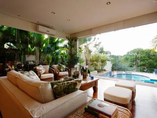 Régua Arquitetura Modern living room