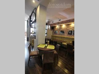 """Ресторан """"Green Cafe"""" г. Севастополь Бары и клубы в стиле лофт от Дорогой Дом Лофт"""