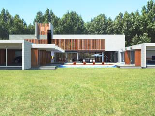 Case moderne di Mauricio Morra Arquitectos Moderno