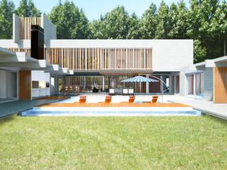 Jardines de estilo moderno de Mauricio Morra Arquitectos Moderno