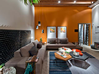Living room by Sarau Arquitetura, Modern