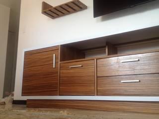 Mueble TV Multifuncional GN:  de estilo  por Demadera Caracas