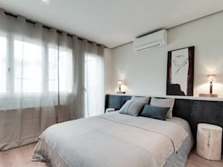 Dormitorios mediterráneos de Lara Pujol | Interiorismo & Proyectos de diseño Mediterráneo