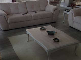 Living room by BAGO MİMARLIK , Modern