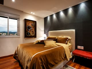 Bedroom by Régua Arquitetura, Modern