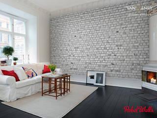 Rebel Walls / individuel angefertigte - hochwertig und ausgefallene schwedische Tapeten:  Wände von vanHenry interiors & colours