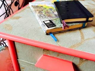 Projeto Remobília - Antes e depois escrivaninha por Camila Feriato Moderno