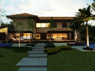 Houses by Eduardo Novaes Arquitetura e Urbanismo Ltda.
