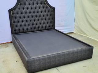 cama capitonada:  de estilo  por fabrica de ideas