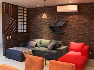 D.I. Pilar Román Industrial style living room