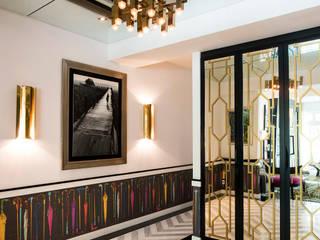 Maximalist Modern Modern corridor, hallway & stairs by Design Intervention Modern
