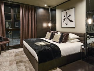 Kasara Townhouse Design Intervention Modern style bedroom