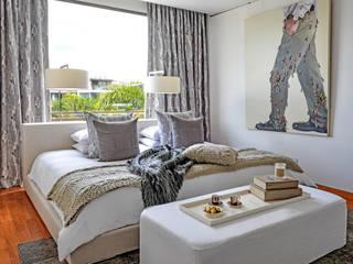 Sentosa Beach House Scandinavische slaapkamers van Design Intervention Scandinavisch