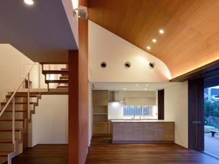 Scandinavian style dining room by 澤村昌彦建築設計事務所 Scandinavian
