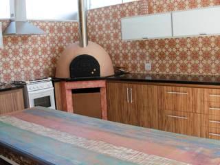 Cuisine rustique par Carol Abumrad Arquitetura e Interiores Rustique