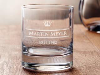 Whiskyglas mit Gravur - kleine Krone - personalisiert von Gravado (LPZ Handelsgesellschaft mbH) Klassisch