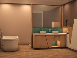 Bathroom Salle de bain :  de style  par ADesign-eu