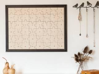 Hochzeits-Puzzle zum Selberbemalen - Blanko:   von Gravado (LPZ Handelsgesellschaft mbH)