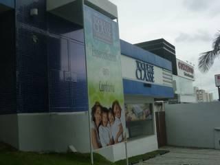 ANALU ANDRADE - ARQUITETURA E DESIGN อาคารสำนักงาน ร้านค้า