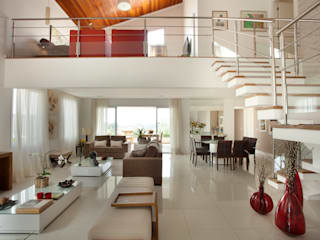 Living room by Habitat arquitetura, Modern