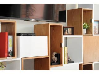 Modular Library Redesign Studio Study/officeCupboards & shelving