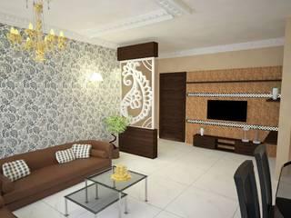Lavish Livingroom:  Living room by  Interior Design