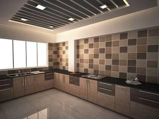 Kool Kitchen:  Kitchen by  Interior Design
