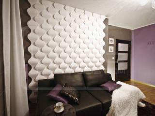 3D Decorative Panel - Loft System Design - model Rain Drop Loft Design System Walls & flooringWall tattoos