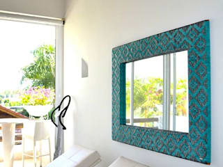 Colores y Tejidos:  de estilo  por Carolina Ortega Design Studio