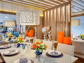 Ruang Makan Modern Oleh Ideatto Móveis e Decorações Modern