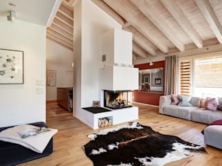 Alpine Interiors: modern  by Ross Woodhall Images, Modern