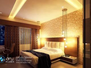 Спальня в стиле модерн от ARY Studios Модерн