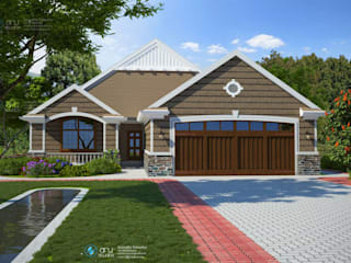 Residential project Modern houses by ARY Studios Modern