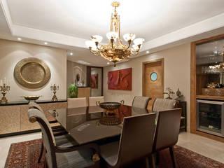 Priscila Gabrielly Designer de Interiores Ruang Makan Modern