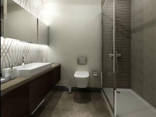 Treso İç Mimarlık – Gold Towers Konut:  tarz Banyo