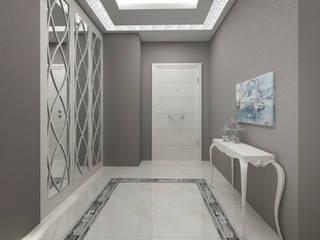 Couloir et hall d'entrée de style  par Treso İç Mimarlık