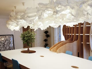 Oficina Everxio Estudios y despachos de estilo moderno de Singularq Architecture Lab Moderno