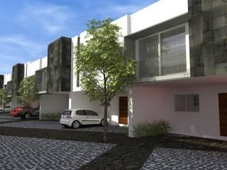 Дома в стиле модерн от studioQUATTRO.mx Модерн