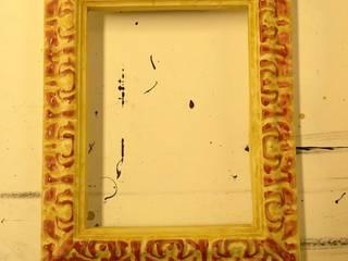 Cadres d'art avec dorure à la feuille:  de style  par Atelier 244 (anciennement Atelier Sans Ambages)