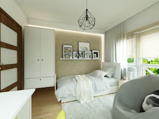 malee Eclectic style nursery/kids room