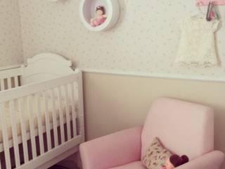 projeto: Quarto infantil  por Patrícia Ribeiro arquitetura + interiores,