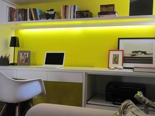 projeto Escritórios modernos por Patrícia Ribeiro arquitetura + interiores Moderno